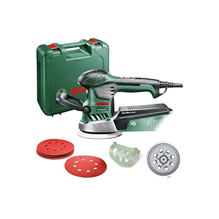 Bosch Exzenterschleifer PEX 400 AE Set inkl. Koffer 06033A4002 350 W neu