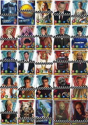 Assorted Doctor Who ALIEN ARMIES Cards