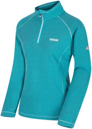 Regatta Kenger Womens Sweater Green Quarter Zip Pullover Soft Winter Fleece 3XL
