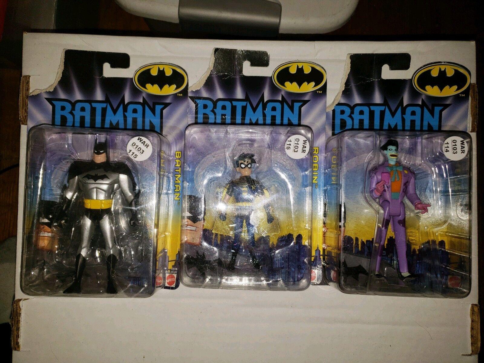 Batman, Robin, & The Joker Action Figures