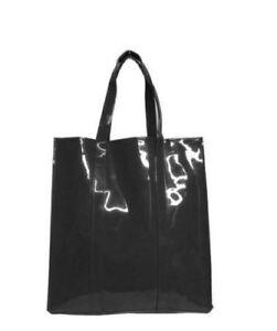 Image Is Loading Twelve Nyc Black Patent Leather Tote Handbag Purse
