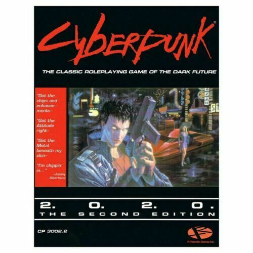 Rpg Games 2020.Cyberpunk 2020 Rpg 2nd Edition Core Rulebook For Sale Online Ebay