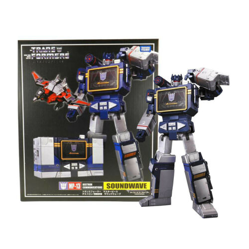 Transformers MP-13 MP13 SOUNDWAVE Masterpiece Regalo Giocattoli Decepticons Toy