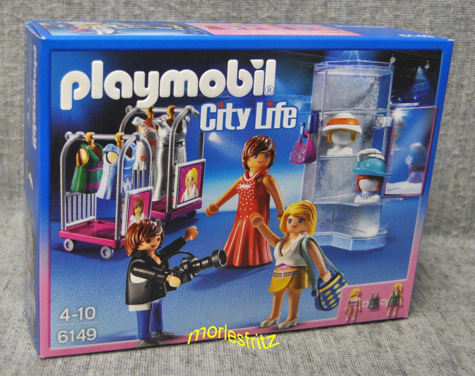 Playmobil 6149 MODENSCHAU mit Fotoshooting - Castingshow - City Life - Neu