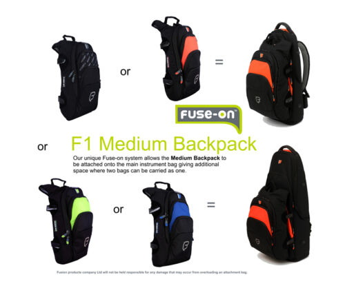 "10/"" Laptop or Tablet Fusion F1 Medium Backpack Blue"