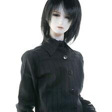 "Black Eurohomme Jacket 28/"" BJD clothes and acc Model M Size Dollmore"