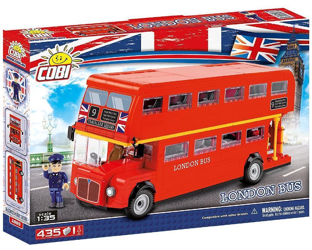 Costruzioni Cobi 435 London Bus, rojo Pz  PS 09213