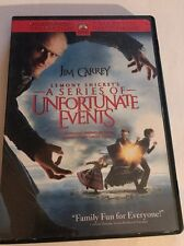 Lemony Snickets A Series of Unfortunate Events (DVD, 2010, Canadian)