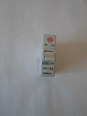 Wylex B type MCB BS60898 32 amp plug in type 3kA