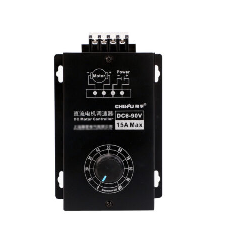 NEW PWM 6-90V 1000W DC Motor Speed Controller 15A Max Governor With Voltmeter