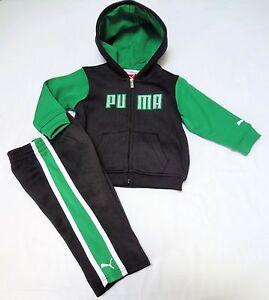 f5b725837e89 Image is loading PUMA-Boys-Warm-Sweatsuit-Track-Outfit-Set-size-
