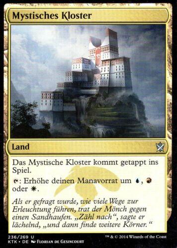 Mystisches Kloster Khans of Tarkir Uncommon DE NM MTG