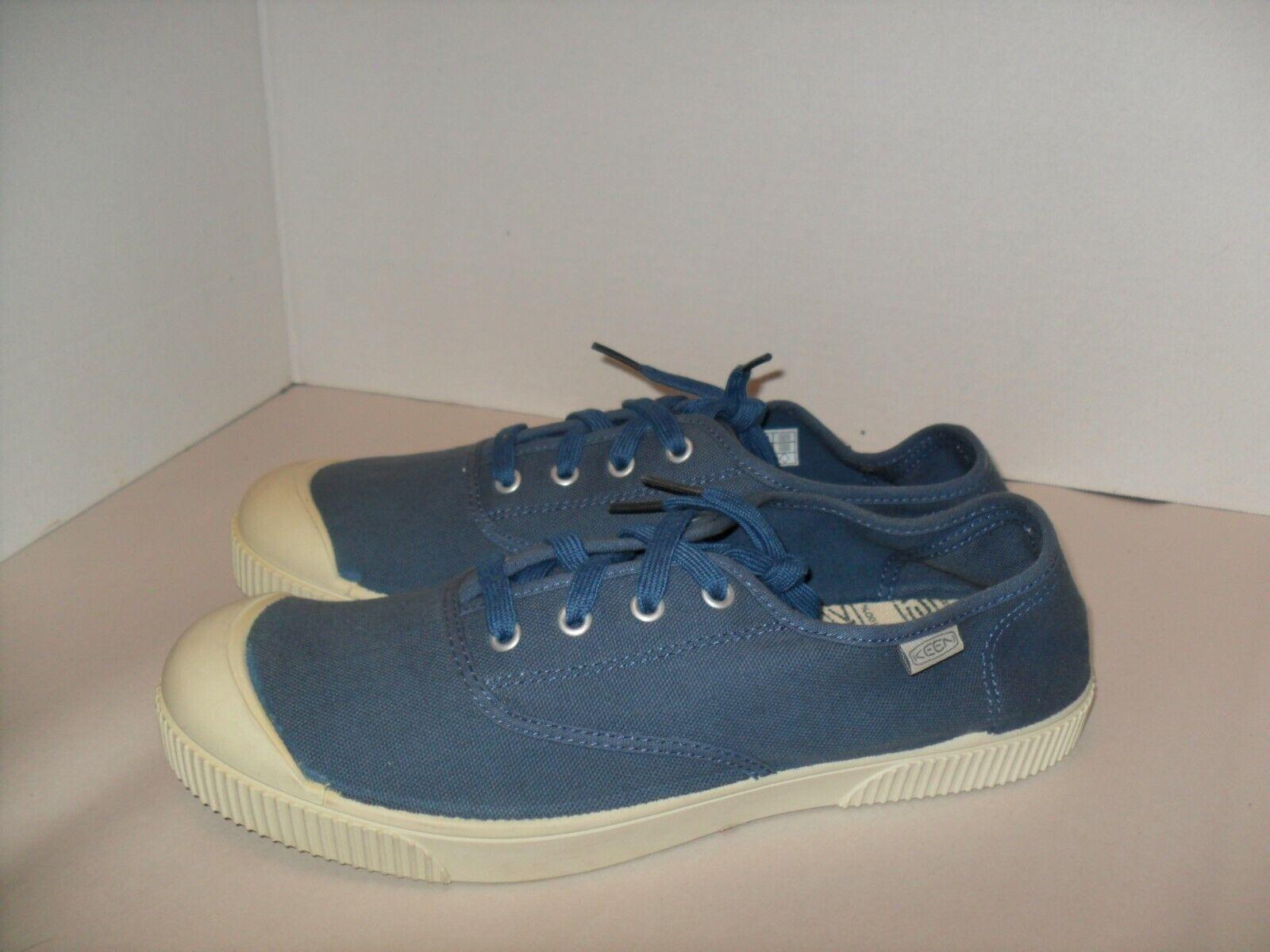 NEW MENS KEEN 100/% VULCANIZED FOOT WEAR SNEAKER SHOES BLUE /& WHITE US SZ 10 /& 11