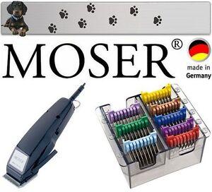 Moser Professionnel Animal Chiens Machine À Tondre Peignes En Acier Inoxydable