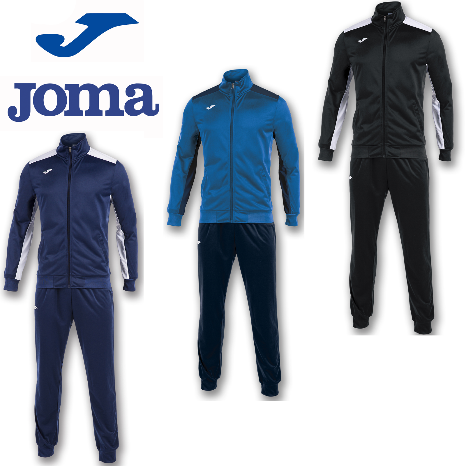 4011ac3e JOMA ACADEMY TRACKSUIT TRAINING TOP SPORTS FOOTBALL SOCCER PANTS KIT FITNESS