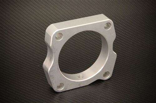 Throttle Body Spacer Silver Acura TL 3.5 2009 Free Shipping