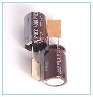 (2pcs) 330uf 100v Nichicon Radial Electrolytic Capacitors 100v330uf