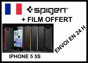 APPLE-IPHONE-5-5S-COQUE-SPIGEN-PROTECTION-NEO-HYBRID