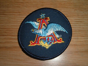 VINTAGE  ANHEUSER BUSCH EMBROIDERED PATCH NOS