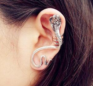1 X Cobra Ohrstecker Ohrringe Cobra Gothic Punk Ohrklemme Ohrschmuck Ohrring Cb4 Warmes Lob Von Kunden Zu Gewinnen