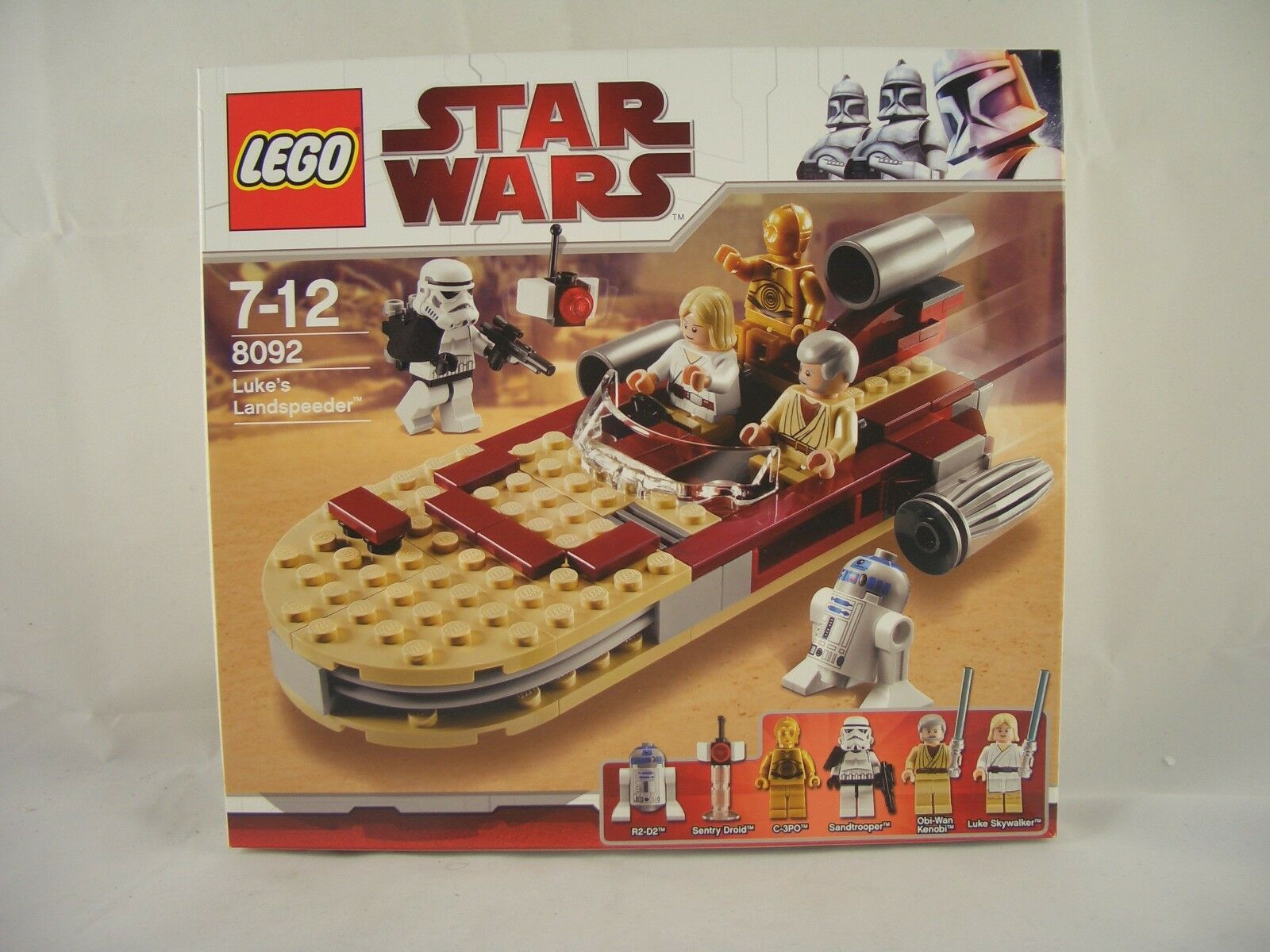 LEGO Star Wars 8092 Luke's Landspeeder New/Sealed