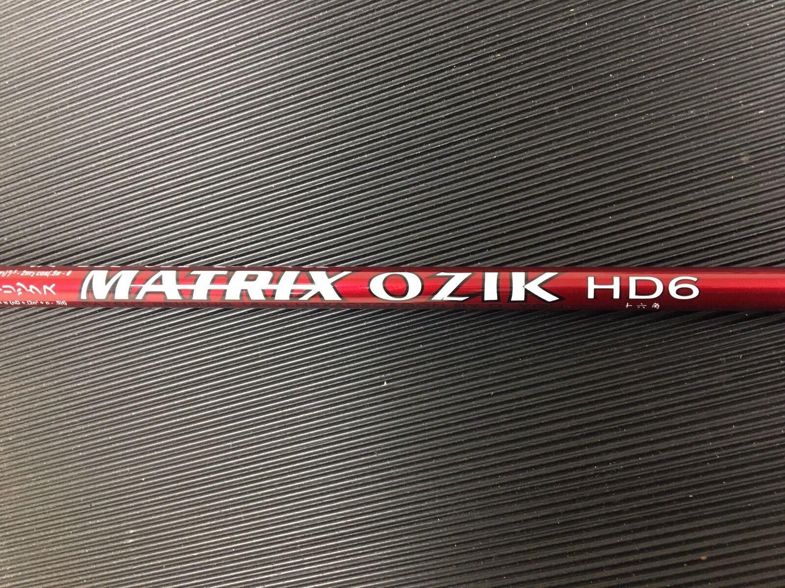 RARE  MATRIX OZIK HD6 X-stiff Bois Arbre