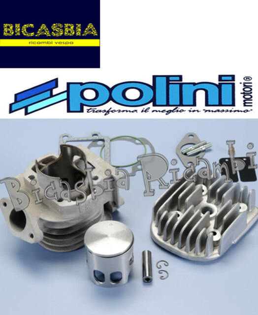 7929 - Cylinder POLINI DM 47 Aluminum Yamaha 50 Bw's Zuma Slider Spy