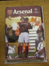 08/03/2006 Arsenal v Real Madrid [UEFA Champions League] . (Any noticable faults