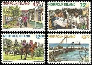 Norfolk-Island-1996-Tourism-4-Stamp-MNH-Set-Scott-606-9-14M-006