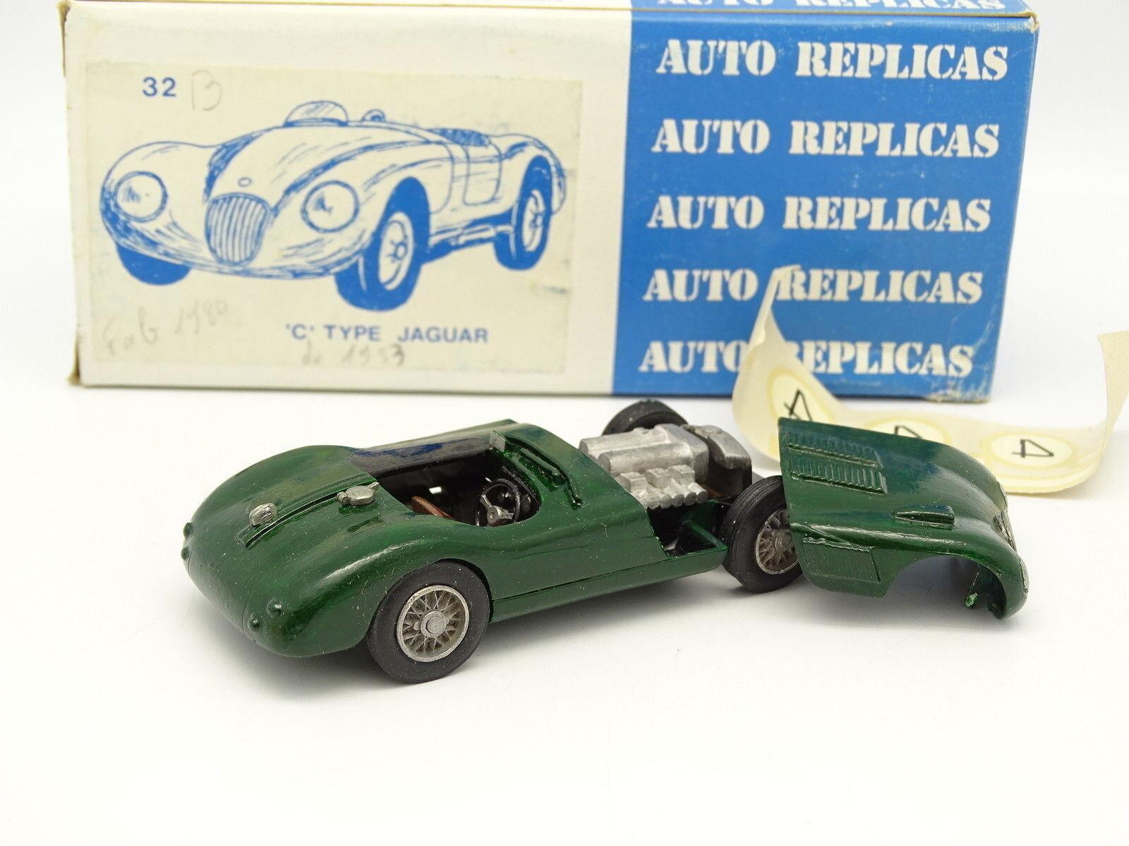 Auto Réplica Kit Montado 1 1 1 43 - Jaguar Tipo C 1953 N°4 64c871