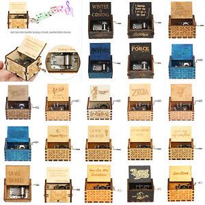 Retro-Vintage-Music-Box-Wood-Hand-Cranked-Music-Box-Home-Crafts-Ornaments-Decor
