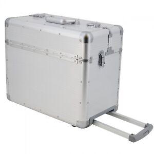 SONOVO-XXL-Pilotenkoffer-Trolley-Business-Aktenkoffer-Aluminium-silber-45165