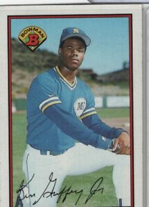 Ken Griffey Jr. Mariners 1989 Topps Bowman AUTO #220 042921DMCD5