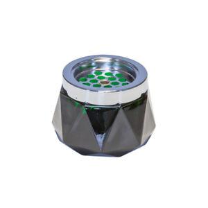 Copieux Windascher Verre Gefrostet Cendrier Diamond Ø 12 Cm Vert Foncé Gastlando-afficher Le Titre D'origine
