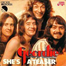"7"" Geordie (Brian Johnson / AC/DC) – She's A Teaser // Germany 1974"