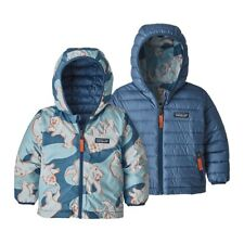 Patagonia Baby Reversible Down Sweater Hoody Insulated Jacket NWT New 3-6 Months