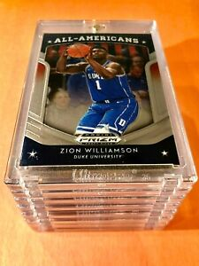 Zion-Williamson-2019-20-HOT-ROOKIE-PANINI-PRIZM-ALL-AMERICANS-DRAFT-PICKS-RC