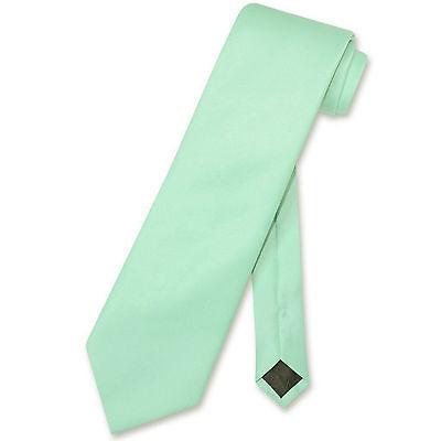 Formal 3 Inches Wide New Men Laurel Mint Green Neck tie Tie Only Party Wedding