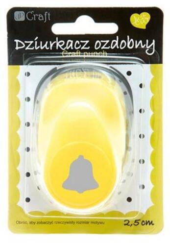 Allrounder Motivlocher Stanzer Punch Hebelstanzer 2,5 Glocke, Klingel, Basteln