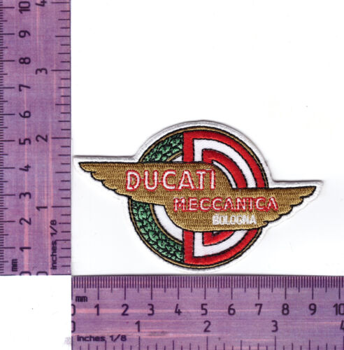 Cloth Patch Ducati Mechanica  Motorcycle  Embroidered Badge