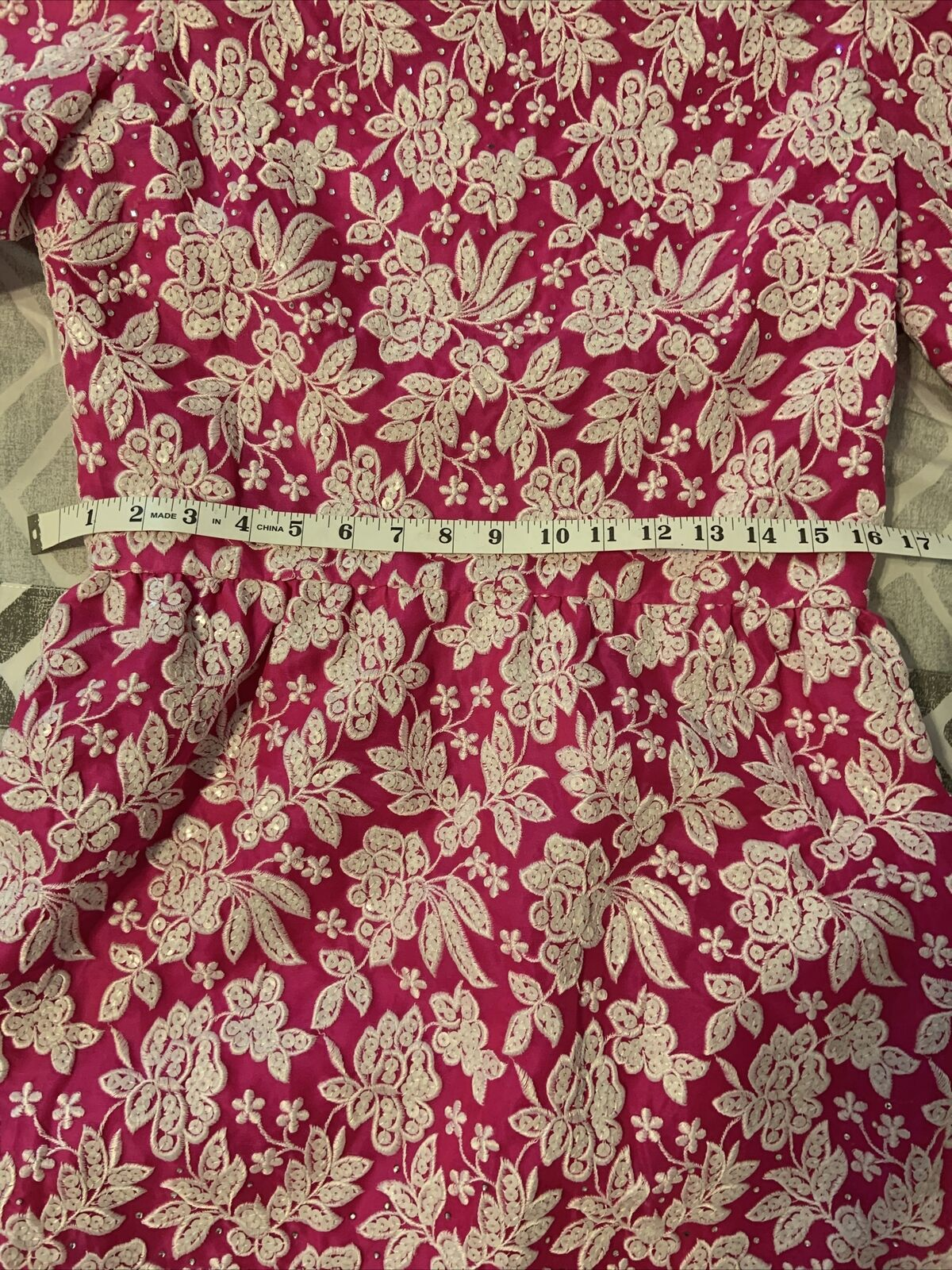 Arnold Scaasi Womens Vintage Couture Hot Pink Emb… - image 10