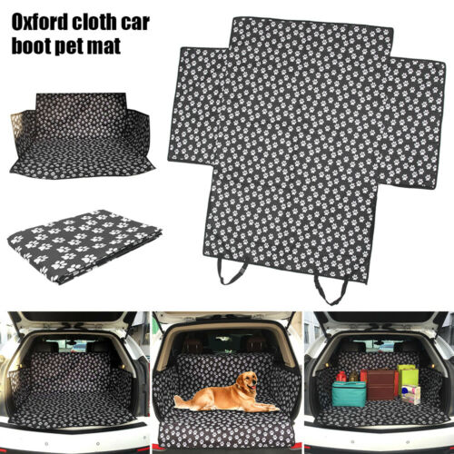 Waterproof Pet Mat Heavy Duty Boot Liner Bumper Pad Cover Protector in Car Trunk