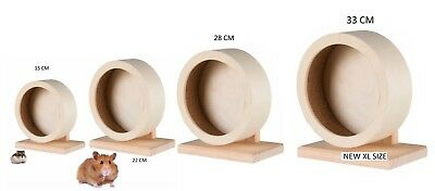 Trixie Quality Wooden Exercise Wheel W Stand Mice Dwarf Or Syrian
