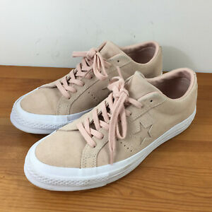 Converse Women's 9.5 Blush Pink Suede