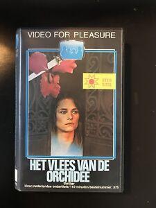 The-Flesh-Of-The-Orchid-Ex-Rental-Vintage-VHS-Tape-Dutch-NL-Film-Videoband