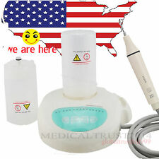 Portable Dental Ultrasonic Piezo Scaler Tips Bottles scaling Handpiece fit EMS