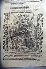 LAZIO,allegoria,xilografia fine XVI secolo.CESARE RIPA