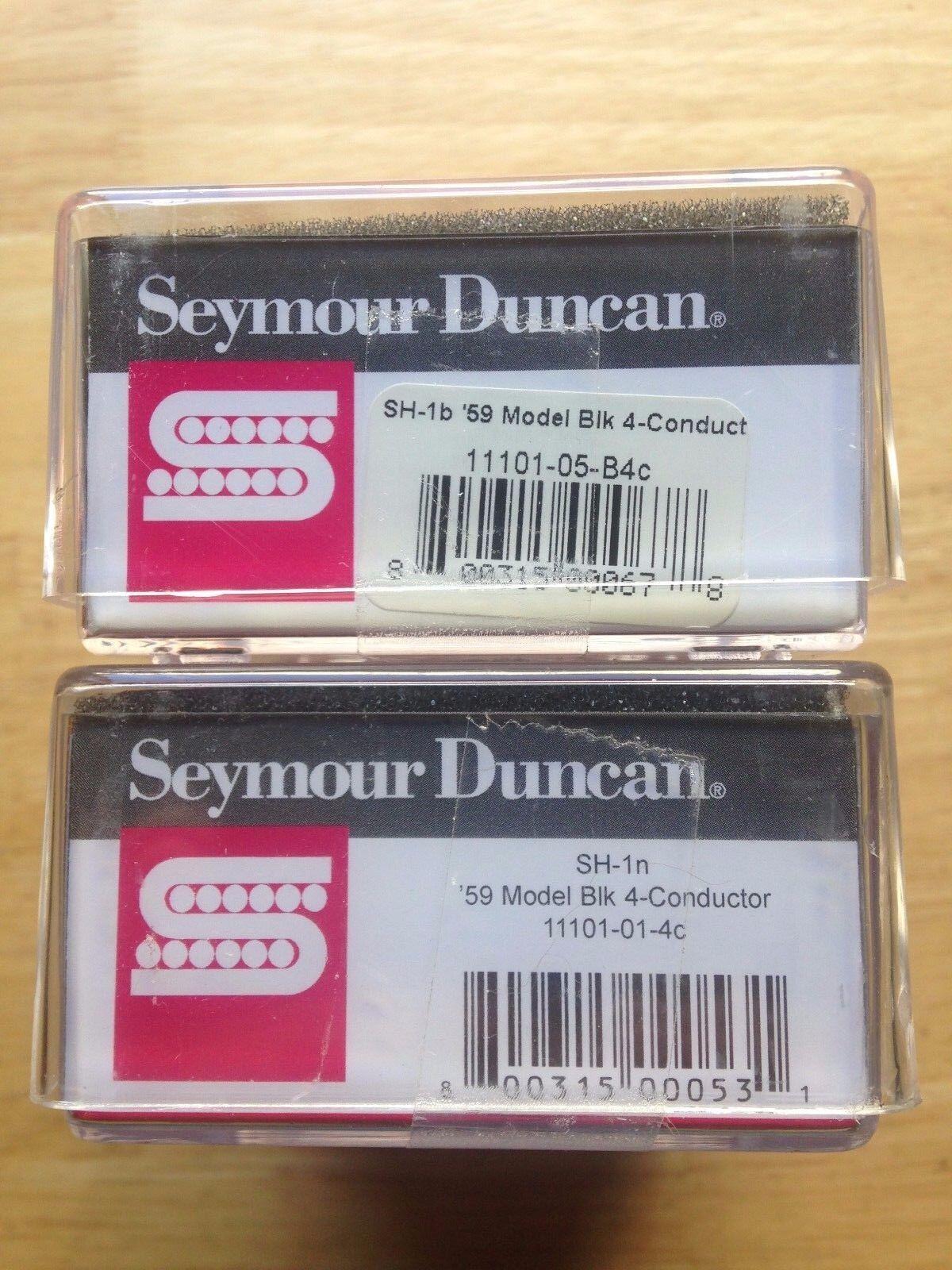 Seymour Duncan 59 59 59 SH-1 4c Humbucker Pickup Set Negro 3 ERNIE BALL SUPER SLINKY a02ba7