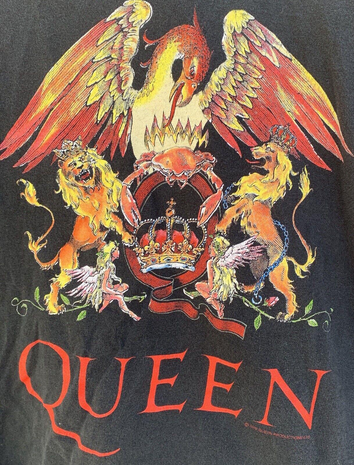 Queen Freddie Brian Roger John T-Shirt Graphics O… - image 8