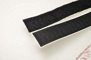 1m-Klettband-034-Hotmelt-034-Haken-Flausch-Grundpreis-20mm-5-80-m-50mm-7-20-m